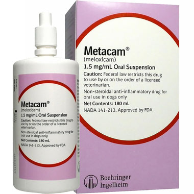Picture Metacam arthritis drug for dogs